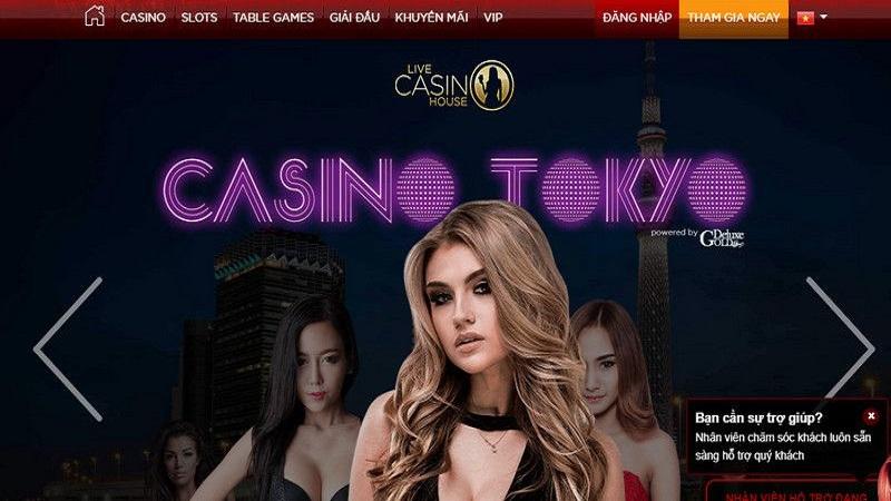 <span>Nhà cái Live casino house</span>