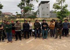 <span>Tin cá cược nhà cái W88: Triệt phá sới gà khủng tại Thanh Hóa, bắt giữ 29 đối tượng</span>